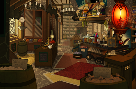 Welcome to Spugnoir's Elixirs, home of Spugnoir's elixirs, may I take your order?